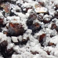 Descloizite & Calcite