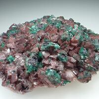 Dolomite Gypsum & Malachite