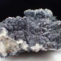 Calcite Boulangerite & Stibnite
