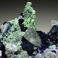 Azurite Arsentsumebite & Cerussite