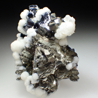 Galena Pyrite & Calcite
