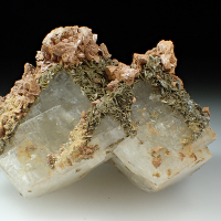 Siderite Muscovite & Adularia