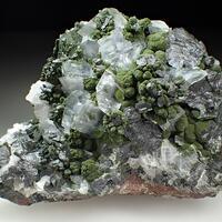 Calcite & Mottramite