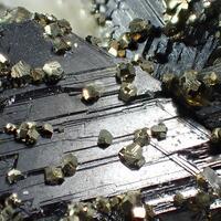 Quartz Sphalerite & Pyrite