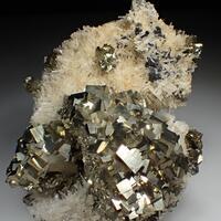 Pyrite Quartz & Sphalerite