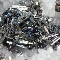 Chalcostibite Chalcopyrite & Quartz