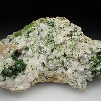 Cerussite Calcite & Duftite