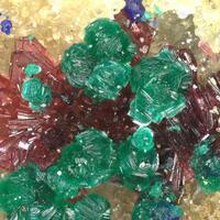 Clinotyrolite Erythrite & Azurite