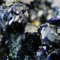 Azurite With Wulfenite & Mimetite