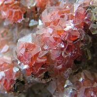 Calcite On Hematite
