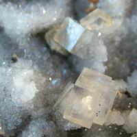 Fluorite Quartz Brianyoungite & Sphalerite