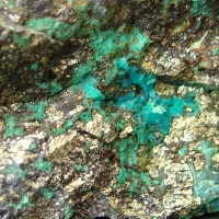 Malachite & Chrysocolla On Bornite