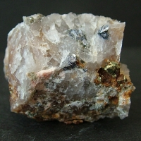 Molybdenite With Pyrite