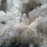Aragonite On Barytocalcite