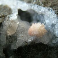 Thomsonite On Analcime