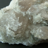 Harmotome On Calcite