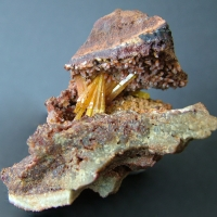 Legrandite Smithsonite & Limonite