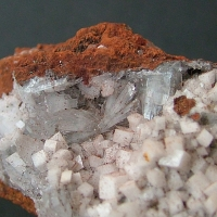 Calcite On Hemimorphite