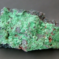 Djurleite With Malachite