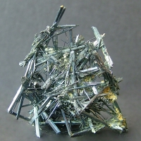 Stibnite With Stibiconite