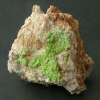 Emmonsite With Hessite