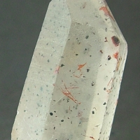 Quartz With Lepidocrocite Inclusions
