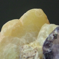 Smithsonite With Fluorite