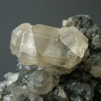 Cerussite On Galena