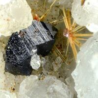Cleusonite Rutile & Hematite
