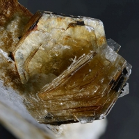 Polylithionite & Catapleiite On Microcline