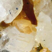 Rhabdophane-(Nd) On Xenotime-(Y)