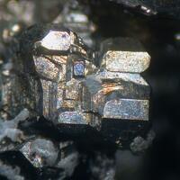 Stephanite & Native Silver