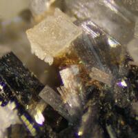 Monteregianite-(Y) & Pectolite & Arfvedsonite