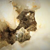 Narsarsukite & Apophyllite