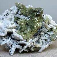 Zircon Albite & Calcite
