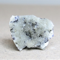 Dawsonite & Fluorite