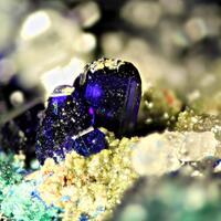 Azurite Cerussite & Aurichalcite
