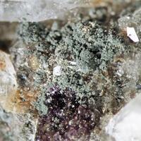 Chamosite & Fluorite