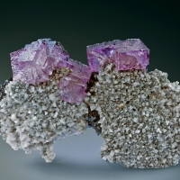 Fluorite & Dolomite & Sphalerite