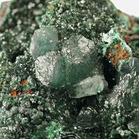 Brochantite & Calcite