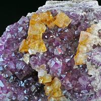 Fluorite & Amethyst