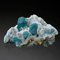 Fluorite & Quartz & Arsenopyrite