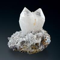 Quartz Calcite & Arsenopyrite