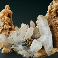 Quartz Calcite Dolomite Pyrite & Galena