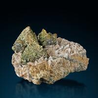 Chalcopyrite Siderite & Quartz