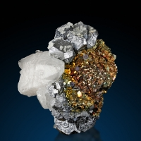 Galena Chalcopyrite & Calcite