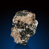 Rutile Hematite Adularia & Calcite