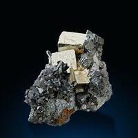 Pyrite Arsenopyrite & Quartz