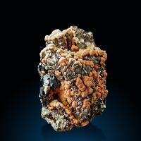 Rhodochrosite Pyrite & Sphalerite