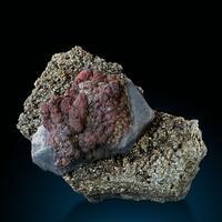 Cinnabar Galena & Pyrite